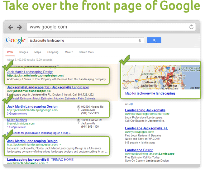 Dominate Google with SEO Marketing